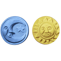 Sun & Moon Guest Soap Mold (MW 54)