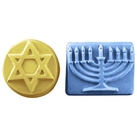 5 Hanukkah Soap Mold (MW 347)