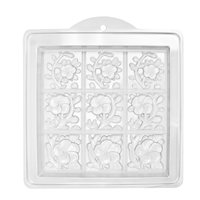 Tropical Vines Tray Soap Mold (MW 04)