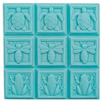 Art Deco Fauna Soap Mold Tray (MW 88)