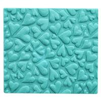 Hearts Carved Soap Mold Tray (MW 102)