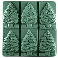Fir Tree Soap Mold Tray (MW 96)