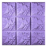 Grapes & Leaves Soap Mold Tray (MW 100)