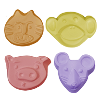Kids Critters 2 Guest Soap Mold (MW 110)