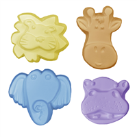 Kids Critters 4 Guest Soap Mold (MW 112)