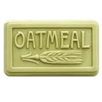 Oatmeal Rounded Soap Mold (MW 123)