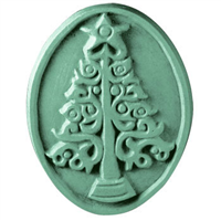 Christmas Tree Oval Soap Mold (MW 94)