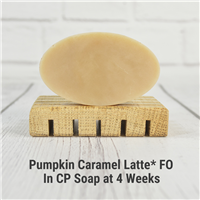 Pumpkin Caramel Latte* FO in CP Soap