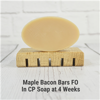 Maple Bacon Bars FO in CP Soap
