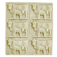Cow and Calf Soap Mold Tray (MW 79)