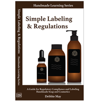 Simple Labeling & Regulations Book - By Debbie May