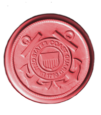 Coast Guard Soap Mold (MW 557)