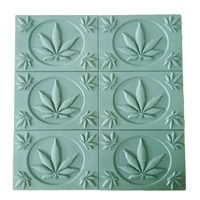 Cannabis Leaves Soap Mold Tray (MW 49)