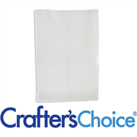 "Premium Crystal Clear Cello Bags (4.75"" x 6.75"")"