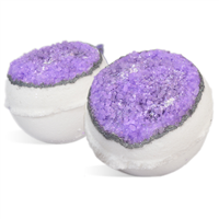 Amethyst Geode Bath Fizzies Kit