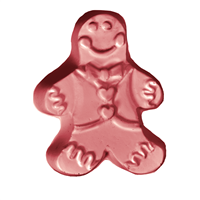 Gingerbread Guest Soap Mold (MW 546)