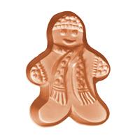 Gingerbread Man 2 Soap Mold (MW 552)