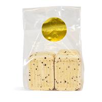 Gold Bath Fizzies with Black Sea Salts Kit