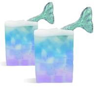 Mermaid Tail MP Soap Loaf Kit