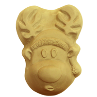 Holiday Reindeer Soap Mold (MW 588)