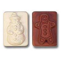 Snowman & Gingerbread Man Guest Soap Mold (MW 52)