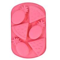 Pineapple and Watermelon Silicone Mold