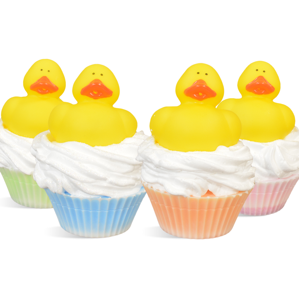 Yellow Duck MP Soap Cupcake Kit