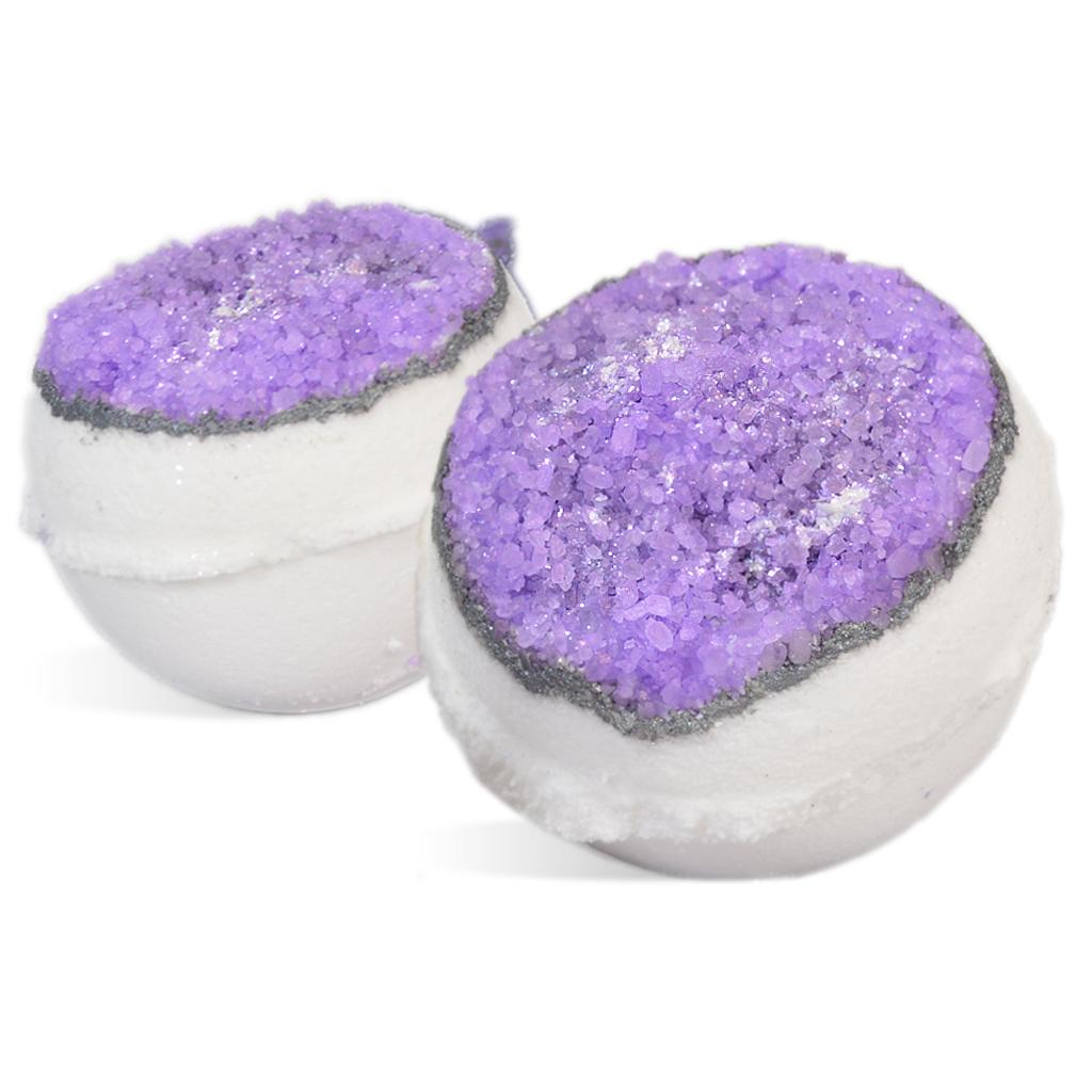 amethyst geode bath fizzies kit wholesale supplies plus