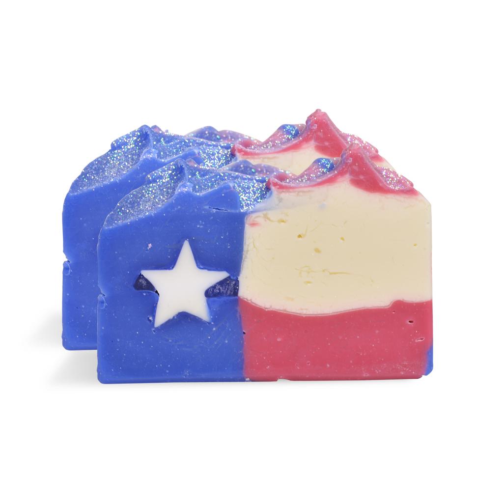 Texas Flag Soap - WholesaleSuppliesPlus
